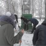благоустройство памятника Погибшим односельчанам