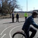 Занятия на площадки отряда ЮИД 6 класса