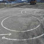 Площадка по обучению правилам дорожного движения