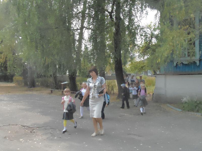 эвакуация начальной школы